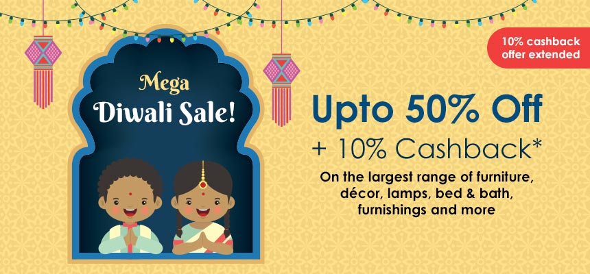 Mega Diwali SaleUpto 50% off