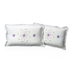 Set of 2 Pure Cotton Pillow Covers