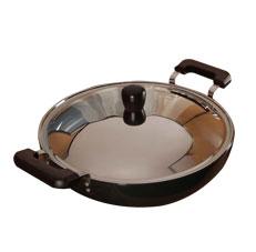 Hawkins 7.5L Deep Fry Pan With Lid