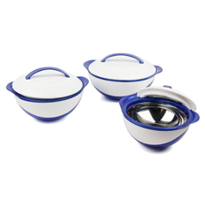 Hot Fall Thermo Set of 3 Casseroles