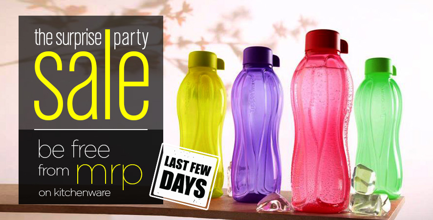 The Surprise Party Sale Be Free From MRP Kitchenware