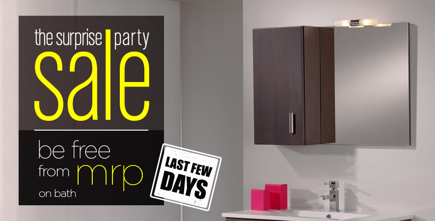The Surprise Party Sale Be Free From MRP on Bath