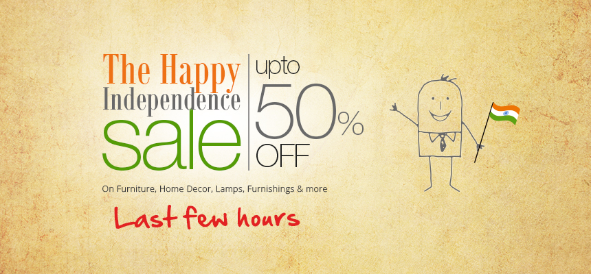 The Happy Independence Sale | upto 50% off