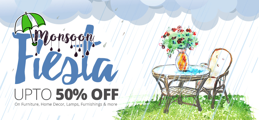 Monsoon Fiesta Sale | upto 50% off