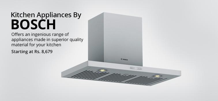 Kitchen Appliances By Bosch